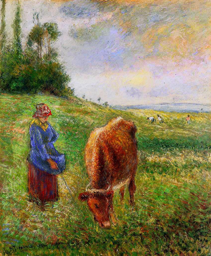 Cowherd, Pontoise