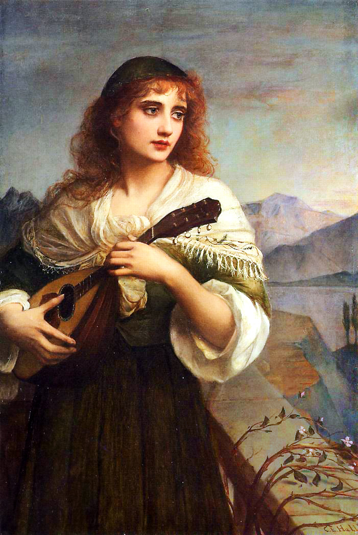 Francesca and Her Lute