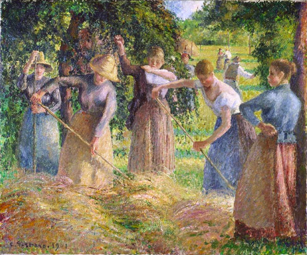 Hay Harvest at Éragny