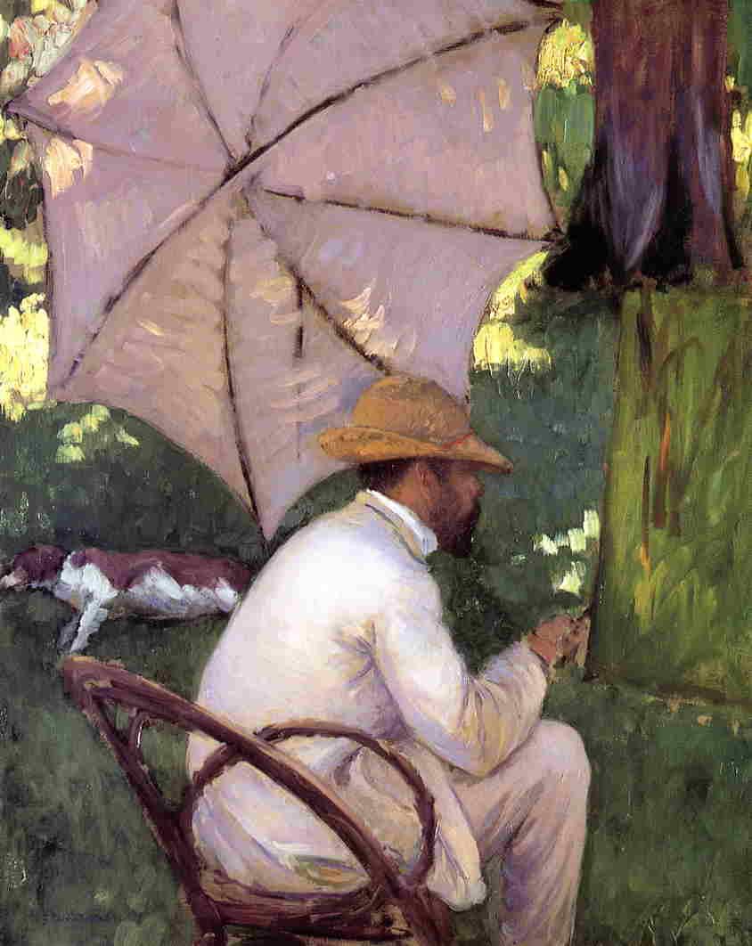 Le Peintre sous son Parasol