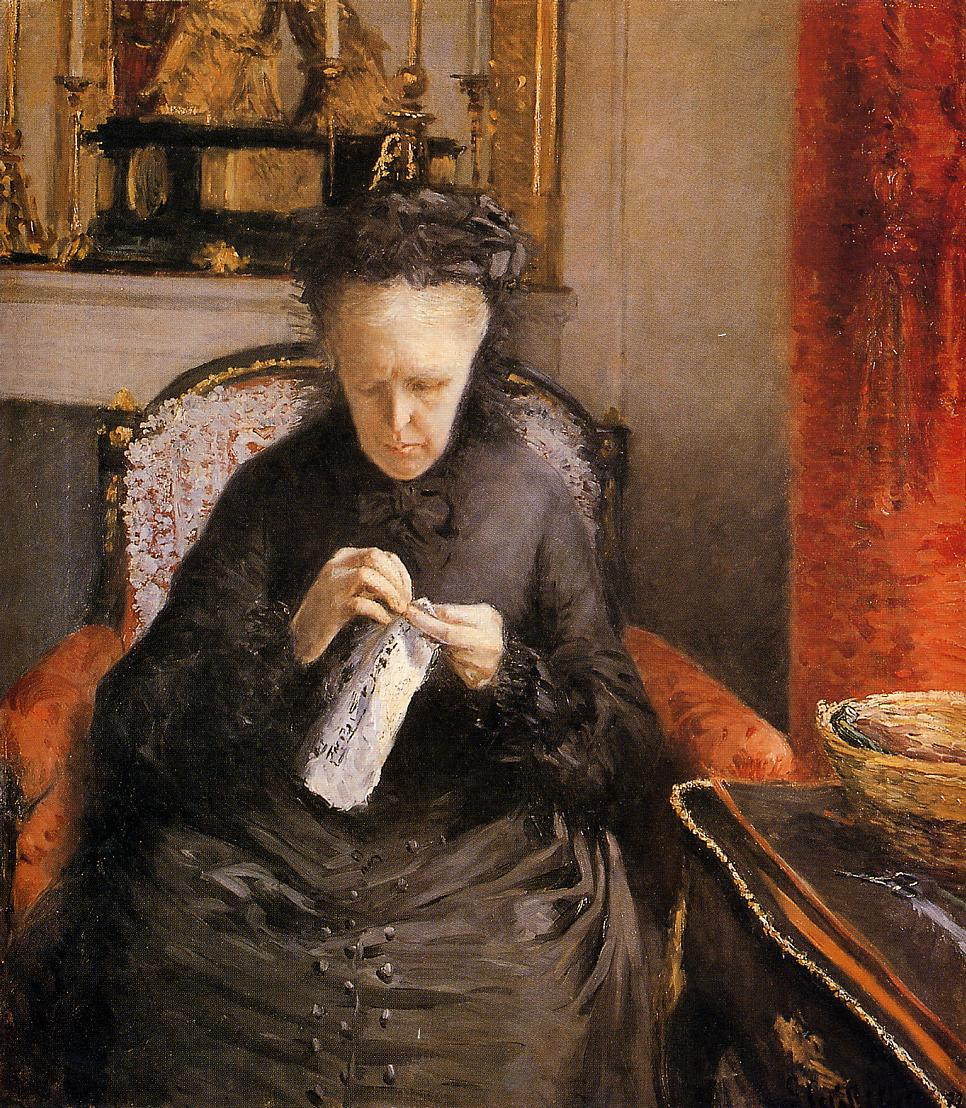 Portrait de Madame Martial Caillebote (La Mère de l'Artiste)