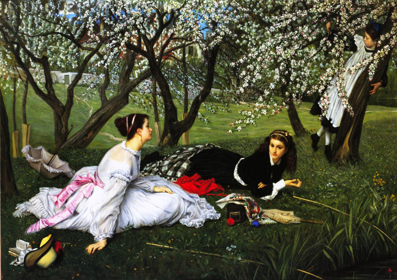 Spring Paintings Famous