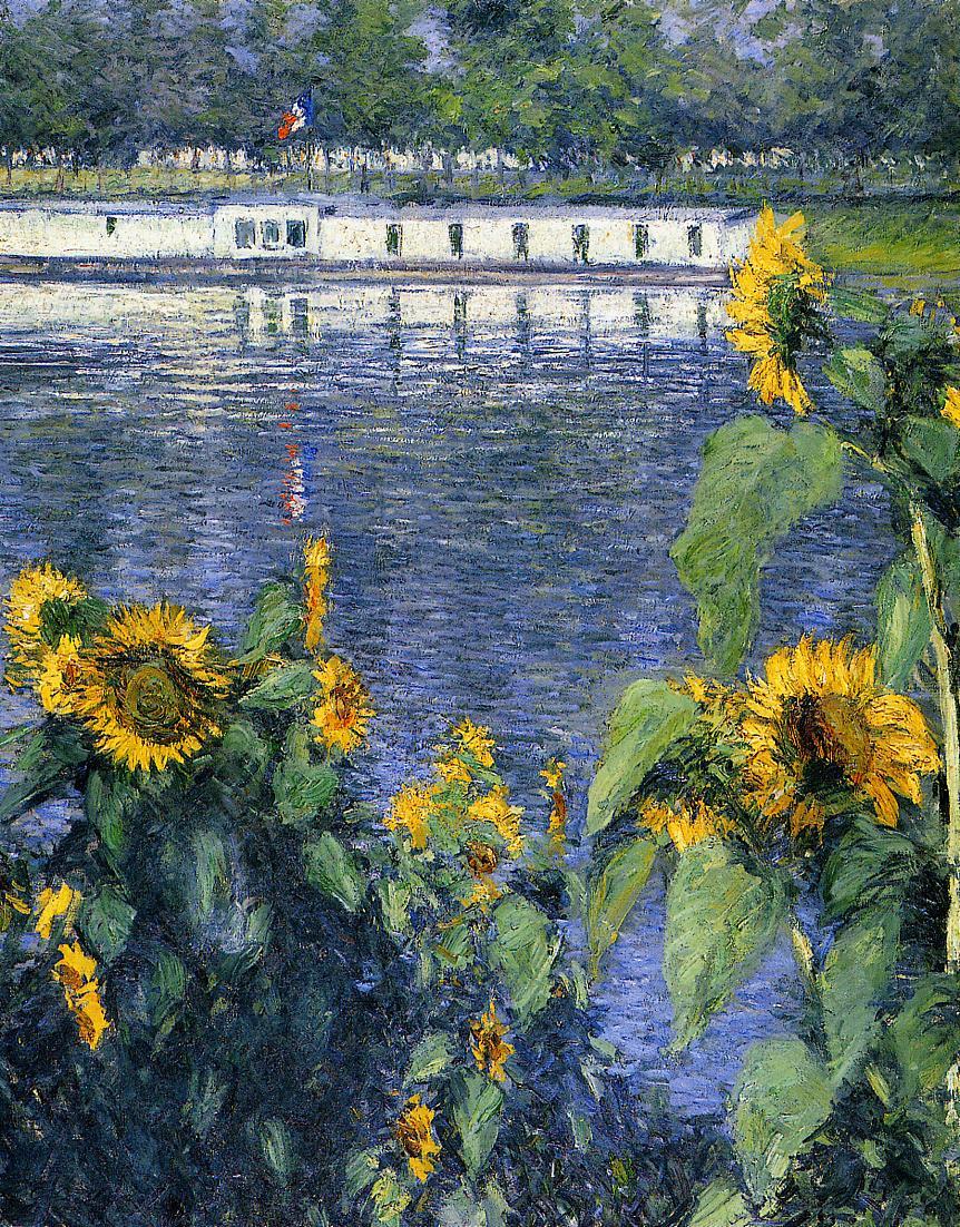Tournesols sur les Bords de la Seine