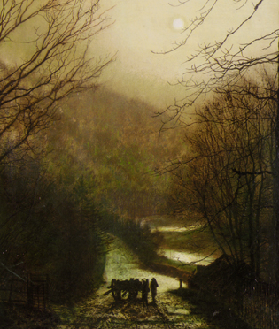 Forge Valley Near Scarborough -John Atkinson Grimshaw 1878