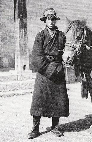 Tibetan Horse Handler