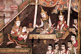Mural Painting Wat Phra That Doi Suthep