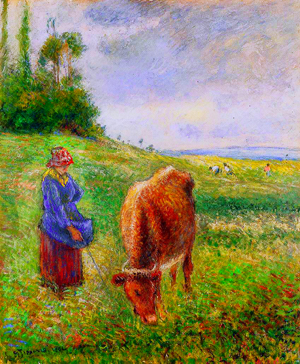 Cowherd, Pontoise