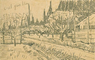 Sketch by van Gogh